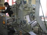 станок для производства салфетки и туалетной бумаги
